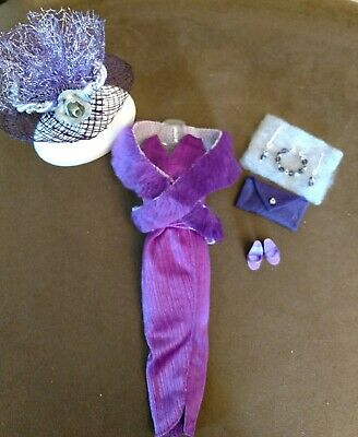 Vintage BARBIE  #5544 PARTY IN PURPLE COMPLETE!   MINT & VERY RARE!  FREE EXTRAS