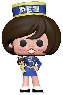 Pez - Pez Girl (Brunette) - Funko Pop! Ad Icons: (2019, Toy NEUF)