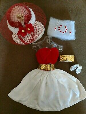 Vintage BARBIE RED SILKEN FLAME SET NEAR MINT!   +EXTRAS  XMAS SPECIAL!
