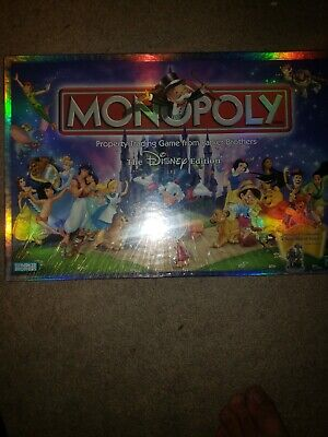 New in Box  2001 Disney Monopoly Game Still Wrapped