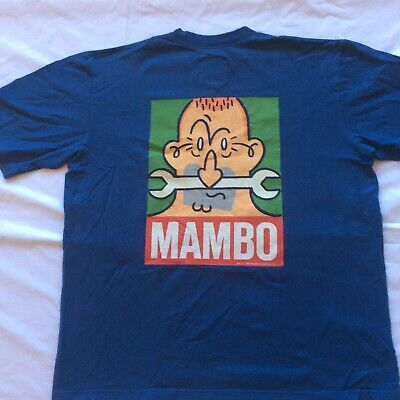 Mambo Loud T-Shirt Shirt 1989 Original Size Medium