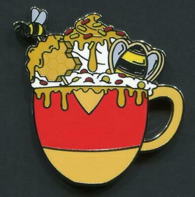 Disney Mystery Pin WINNIE THE POOH - 2019 Happy Holiday Hot Cocoa Collection