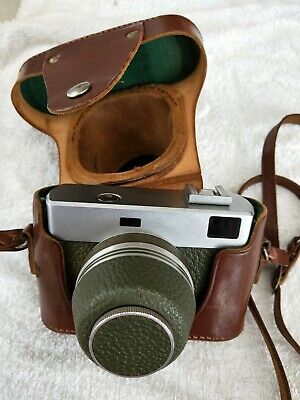Werra Carl Zeiss Jena Tessar 2.8/50 Old Vintage Camera With Leather Case