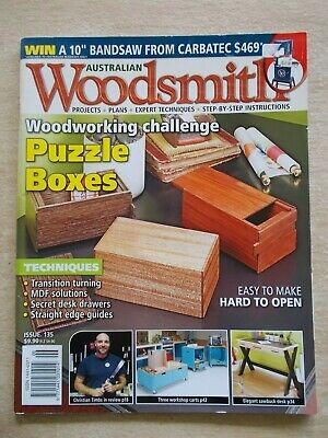 Australian Woodsmith #135~Projects~Plans~Techniques~Instructions....