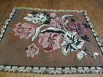 Antique Beaded Cushion Fabric