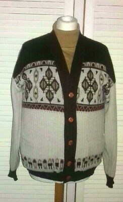 Vintage Retro Cardigan not Tootal L