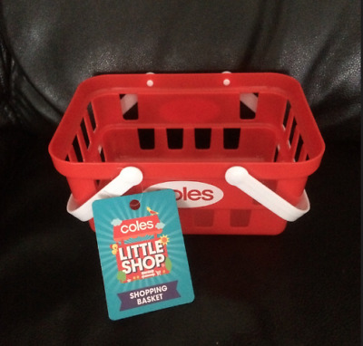 Coles Little Shop Mini Collectable<-()->1St Edition Basket For Your Little Cutie