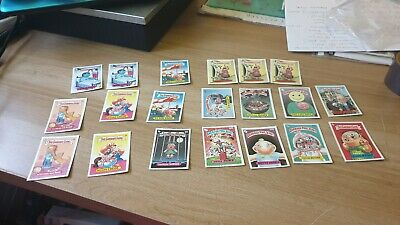 Vintage Garbage Gang And Garbage Pail Joblot 58 Cards Collectable All Listed