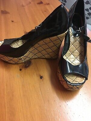 trashed ladies shoes