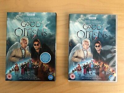 Good Omens dvd boxset complete with art cards