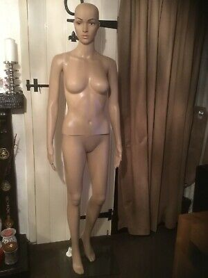 Female Mannequin Full Body Manikin Dummy Display Retail Dressmaker. Pre-owned