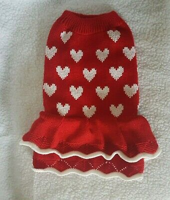adult DRESS HEARTS Warm winter top for a Sphynx  cat clothes, jumper, sweate