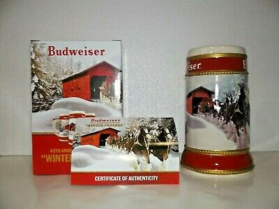 2019 Budweiser holiday  Stein