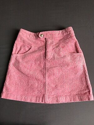 Zara girls corduroy- pink skirt 10 years old in excellent condition