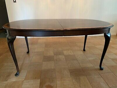 Antique dining room table wood