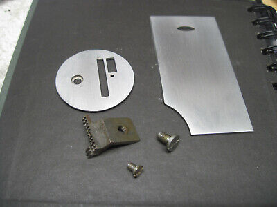 Coronado Clone Singer 128 Sewing Needle Throat Bobbin Rear Slide Plate Feeddog