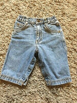 Boys Jeans H&M Baby 2-4 Months Exc Cond