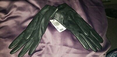 Ladies Size Small Real Leather/Cashmere Gloves(Bnwt)