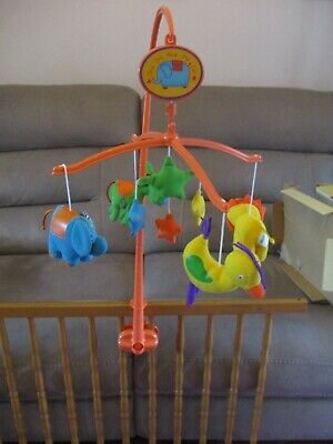 Mothercare Musical Rotating Baby Cot Mobile in original packaging, new.