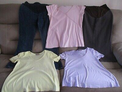 Bundle of Next & George Maternity clothes, size 10, excellent used condition