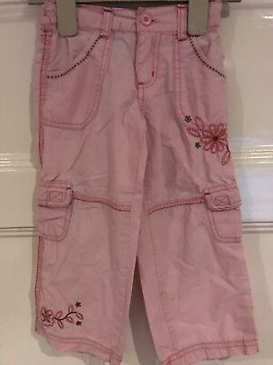 Pumpkin Patch Flower Print Trousers Age 3 Years
