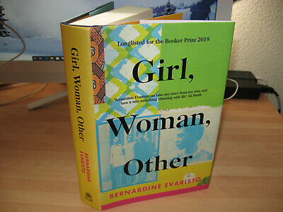 Bernardine Evaristo - Girl, Woman, Other 2019 Booker Prize winner 1st/2nd HB new