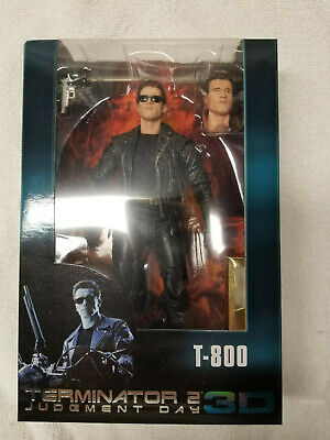 "NECA Terminator 2 (3D Release) 7"" Scale Galleria T-800 Action Figure NEW!"