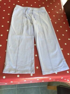 Age 7 Next Girls Lilac Cotton 3/4 Length Trousers