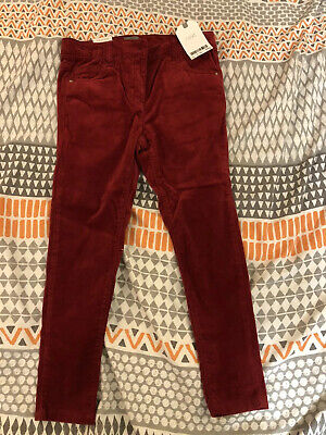 Next Girls Trousers/Jeans BNWT Red 6-7 Years