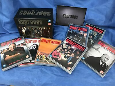 The Sopranos DVD Collection Box Set Series 1 - 6 + Season 6 Final Episodes #149