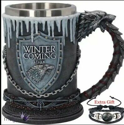 Game of Thrones - House Stark House Sigil Tankard 620ml Wine glass Season 8