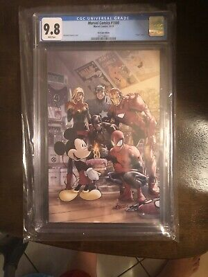 D23 Expo Exclusive Marvel Comic #1000 Graded 9.8