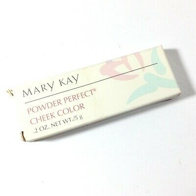 Mary Kay Powder Perfect Cheek Color 2300 .2 oz Shade TEABERRY (Q)