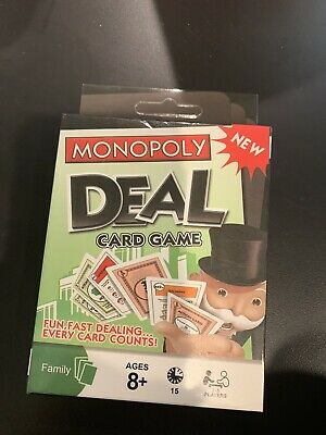 Monopoly Deal Card Game For The Family - New