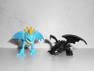 LOOSE Spin Master HTTYD 3 The Hidden World: TOOTHLESS & STORMFLY Mystery Dragons