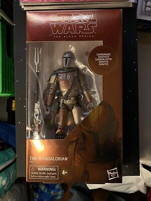 Target exclusives Carbonized Mandalorian Star Wars black series 6 inch figure