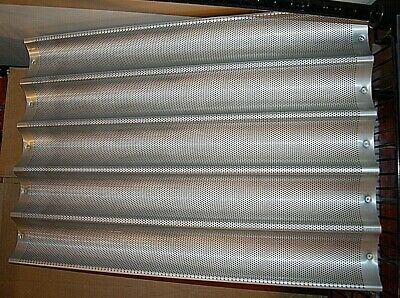 New Chicago Metallic 49035 Mold Slot Baguette French Bread Baking Tray Pan 18x26