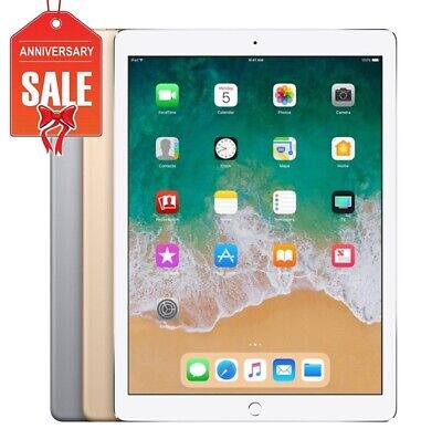 "Apple iPad Pro 2nd 12.9"" Wi-Fi Touch ID 64GB 256GB 512GB I GRAY SILVER GOLD"