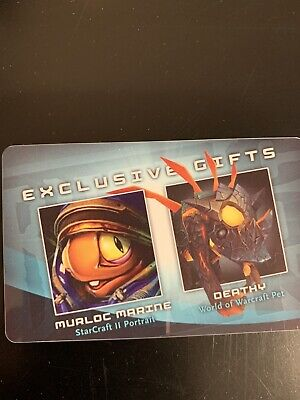 Deathy- WoW Blizzcon 2010 Unscratched Loot Card - World of Warcraft Pet
