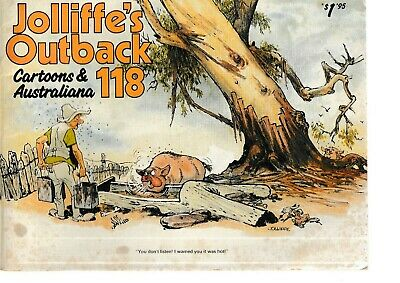JOLLIFFE'S OUTBACK  No 118    AND JOLLIFFE'S OUTBACK CALENDAR   1984....