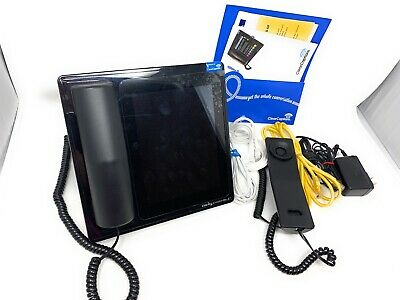 Clarity Ensemble Amplified Captioned Telephone ClearCaptions Touch Screen