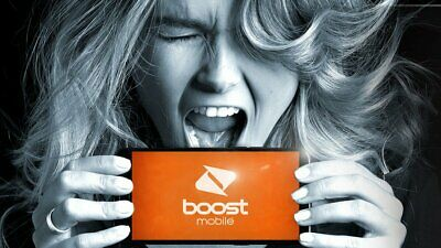 BOOST $10 SIM STARTER PACK 3GB DATA+UNTD CALLS & TXT OZ+7 DAY EXP. Express Post
