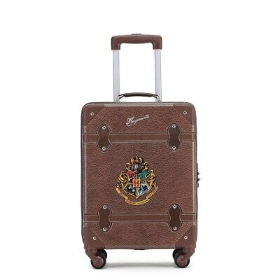 Harry Potter WB030 Hogwarts 19in Small 4 Wheel Hard Suitcase