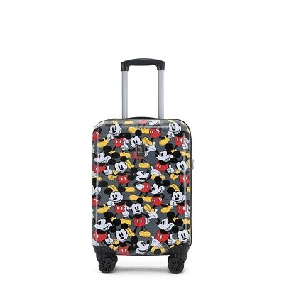 Disney DIS165 Mickey Mouse 19in Small 4 Wheel Hard Suitcase
