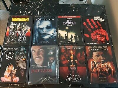 Horror, Sci-Fi & Thriller DVD's Lot Choose Individually Prices Vary