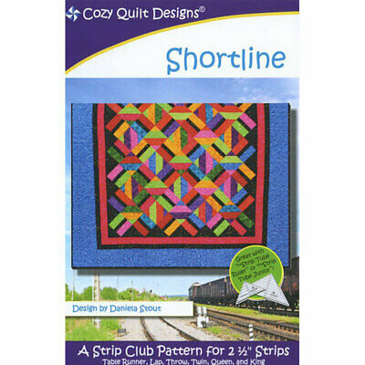 Shortline Quilt Pattern For Cozy Quilt Designs Quilting Sewing Craft DIY