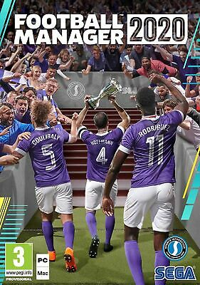 Football Manager 2020 (PC DVD)