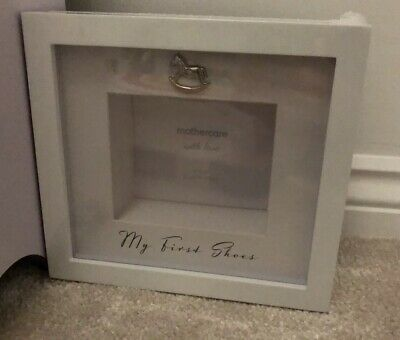 Mothercare My First Shoes Frame Newborn Gift BN In Packaging