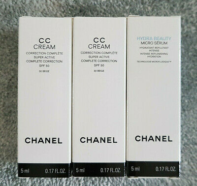 Chanel CC cream 5ml x 2 et Micro Sérum 5ml