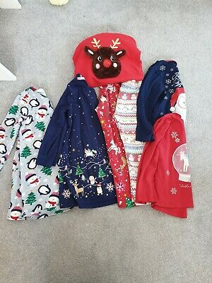 Girls Christmas Clothes Bundle Age 4-5 Years